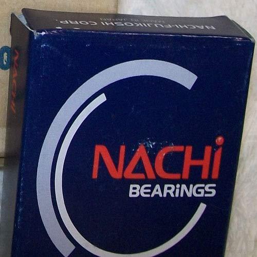 Nachi 5204A Znr Double Row Angular Contact Bearing-1 Metal Shield-Snap Ring