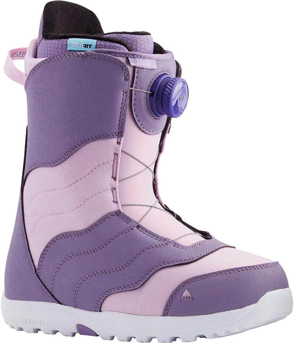 Burton Mint Boa Snowboard Boot - Women's Purple/Lavender, 7.5