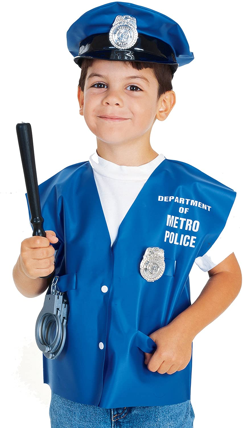 Rubie's Costume Child's Police Officer Dress-Up Kit