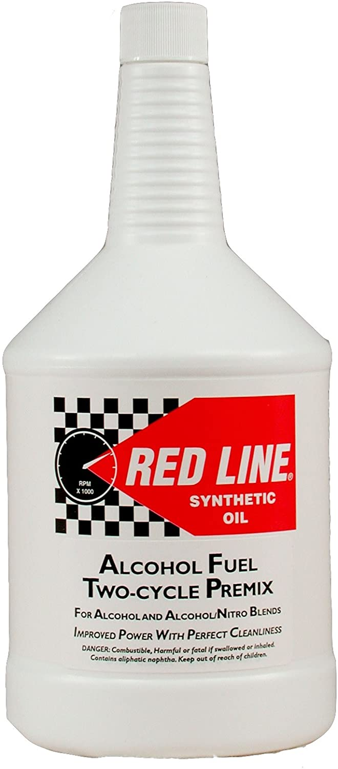 Red Line 40504 Two-Cycle Alcohol Oil - 1 Quart Bottle