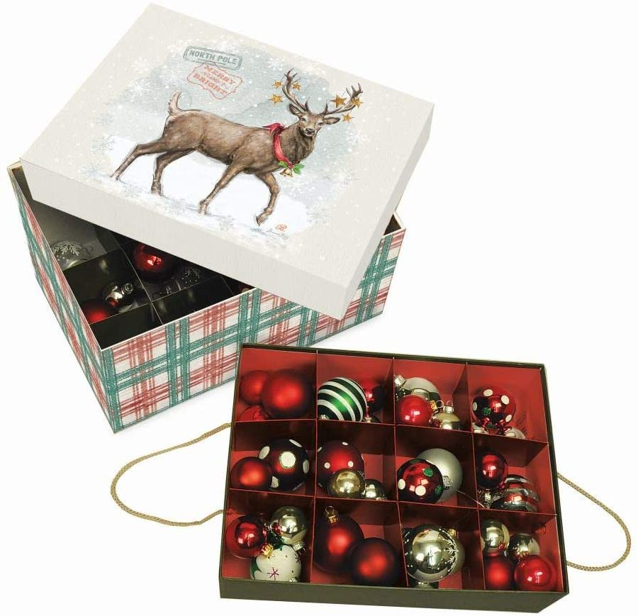 Lang Woodland Christmas Ornament Box (4022022)