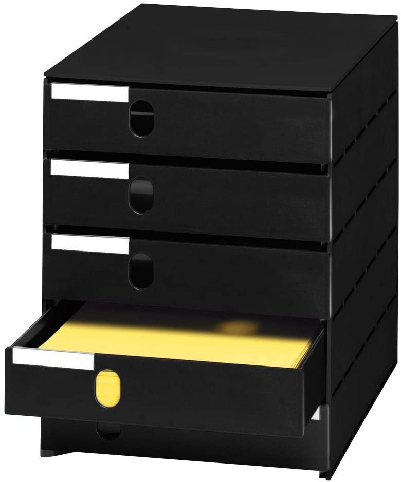 Styro 23100-85 Office Boxes Black