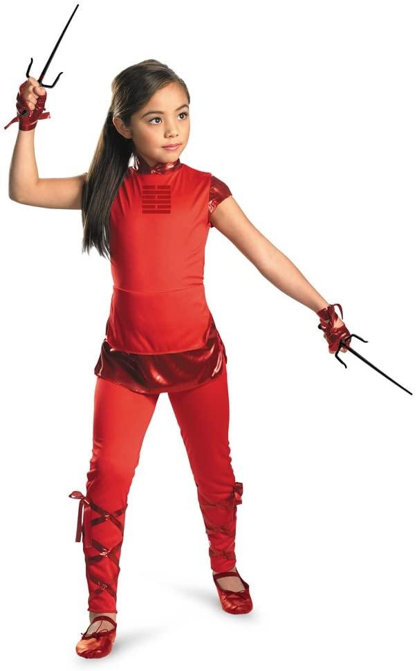 Disguise Girls GI Joe Movie Jinx Classic Costume, X-Small/3-4 Tall