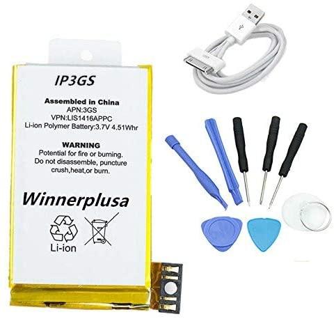 Winnerplusa Battery for iPhone 3GS