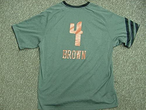 Derrick Brown Charlotte Bobcats 2011-2012 Game Worn Shooting Shi
