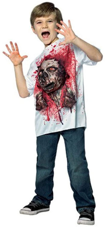 T-Rex Exploding Shirt Costume for Kids