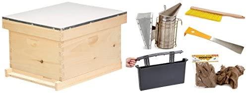 Little Giant 10-Frame Beginner Hive Kit Beekeeping Starter kit for Beginners (Item No. BEGHIVEKIT)