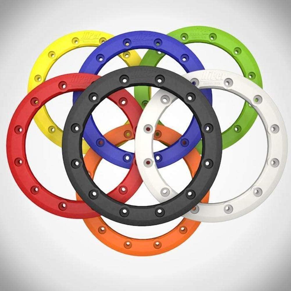 Hiper Wheel Sidewinder 2 Wheels Bead Ring - 12in. - Yellow BR-12-1-YL-05
