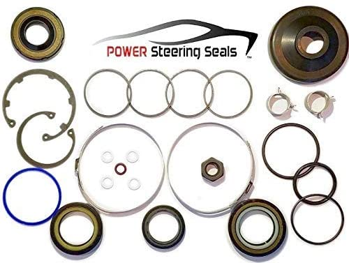 Power Steering Seals - Power Steering Rack And Pinion Seal Kit for Chevrolet Traverse