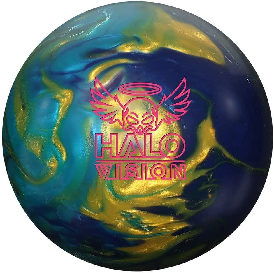 Roto Grip Halo Vision 15lb, Gold/Sky Blue/Purple