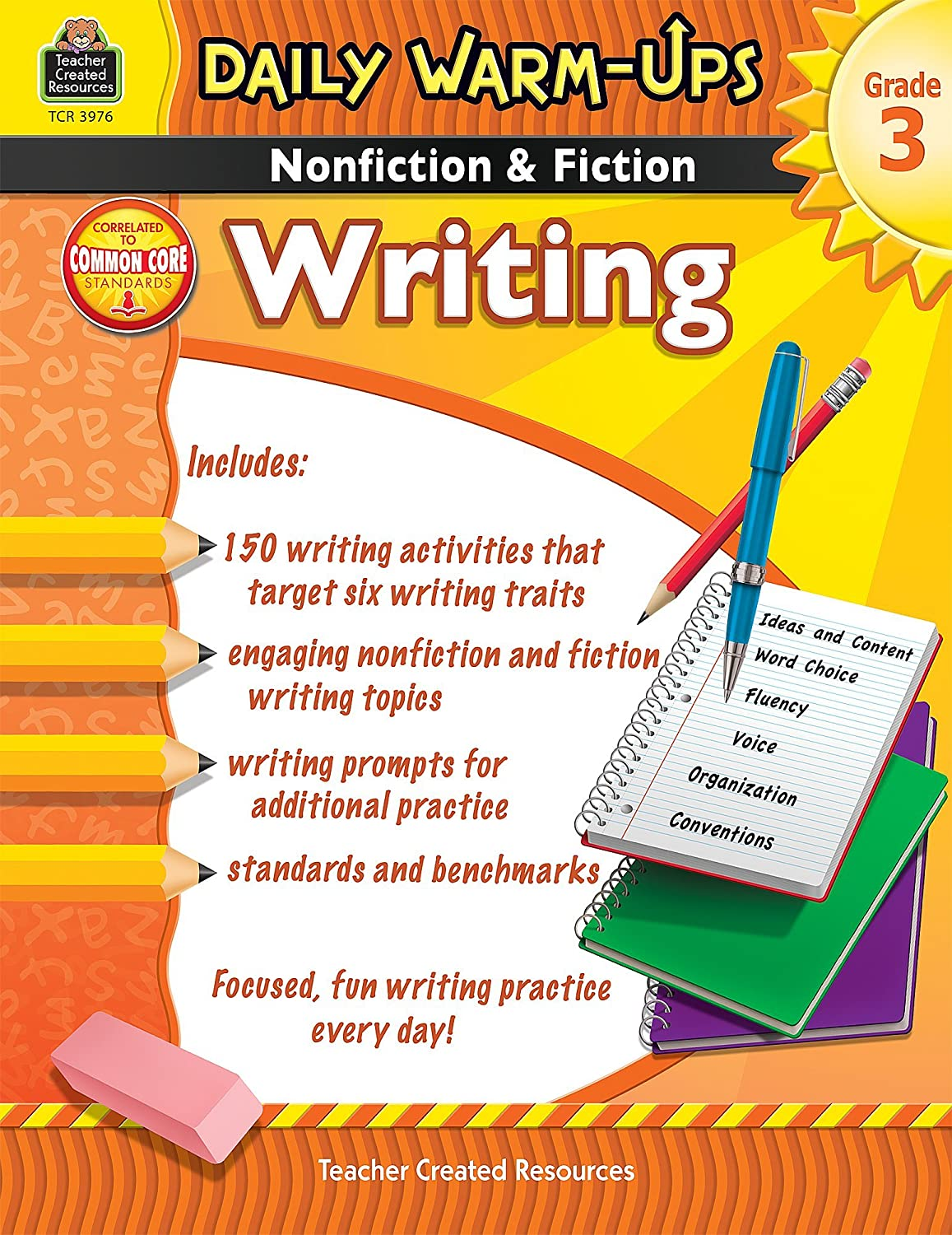Daily Warm-Ups: Nonfiction & Fiction Writing Grd 3: Nonfiction & Fiction Writing Grd 3
