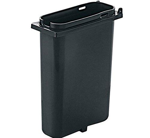 Server Products 83159 Fountain Jar, 2 Quart Capacity, Slim, Deep, Black Plastic