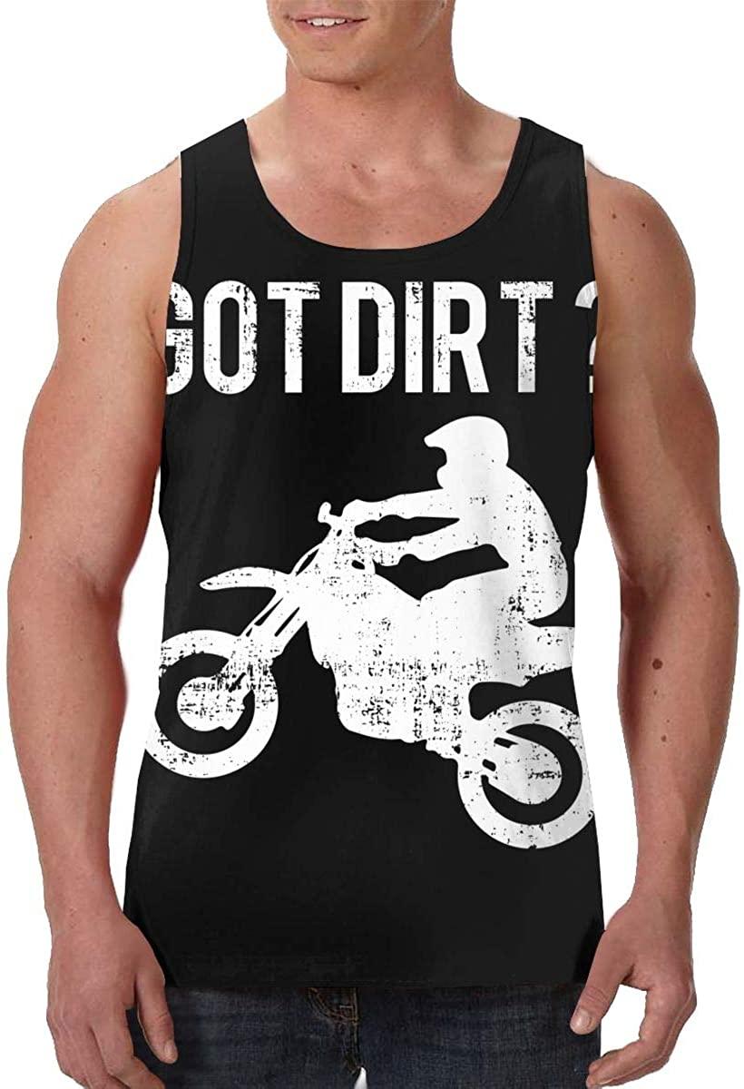 Fengyaojianzhu Got Dirt Bike Men's Tank Top T-Shirt 3D Printed Sleeveless Vest