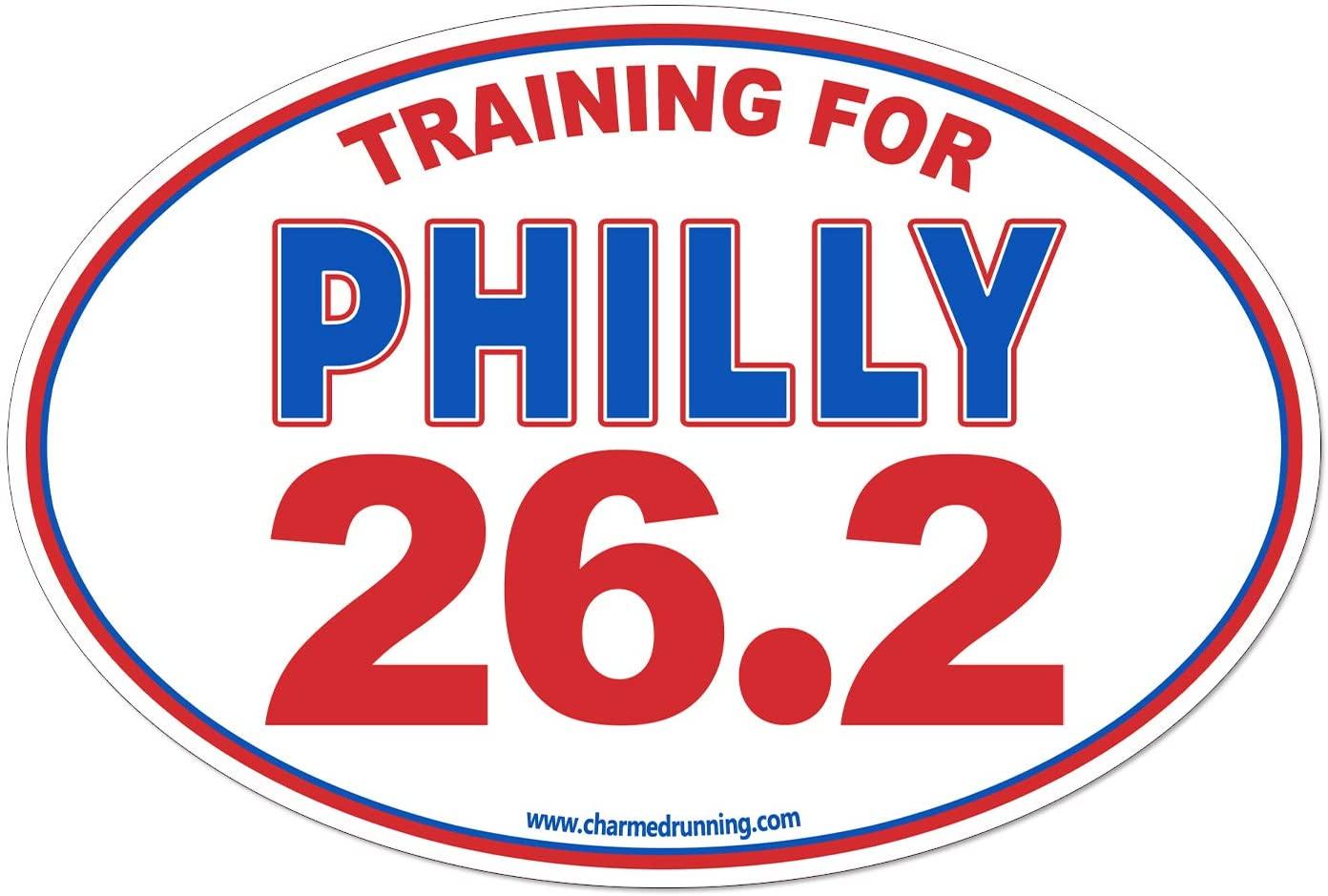Charmed Running Training For Philly Philadelphia Marathon 26.2 Car Magnet