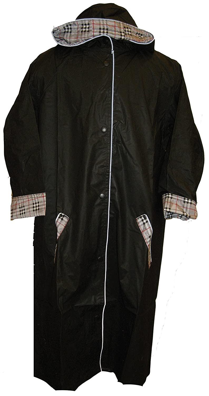 Raincoat Black Boys Nylon Raincoat Sizes: 2/20 By Shaindys Childrens Wear (7/8, Black)