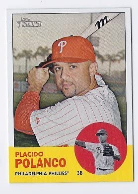 2012 Topps Heritage 71 Placido Polanco Near Mint or better
