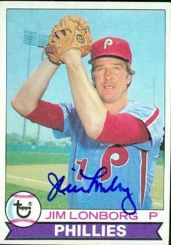 Jim Lonborg autographed Baseball Card (Philadelphia Phillies) 1979 Topps #446