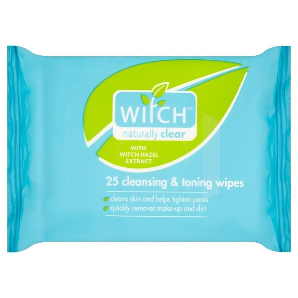 Witch Cleansing & Toning Wipes (25) - by Witch