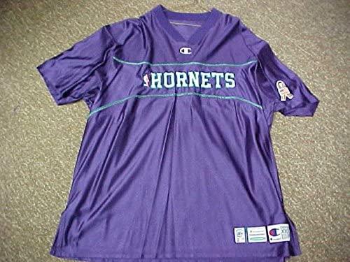 Jerome Moiso 2001-02 Charlotte Hornets Game Worn Shooting Shirt