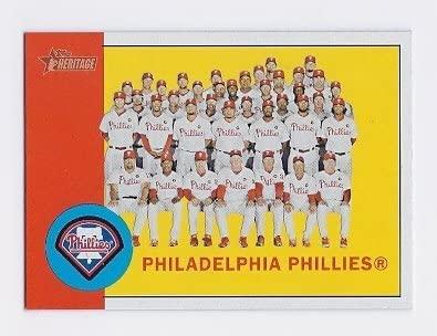 2012 Topps Heritage 13 Philadelphia Phillies Near Mint or better