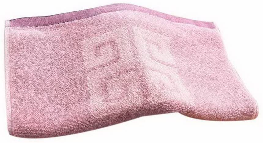 Gentle Meow Thickening Cotton Face Towels Hotel Couple Towels Home Wash Jacquard Towel, Pink
