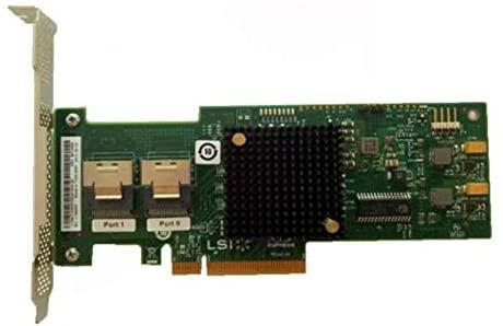 Calvas 9200-8I LSISAS2008-IT Mode 8 port HBA JBOD SFF8087 Mini-SAS 6Gb PCI-E 2.0 X8 Controller Card