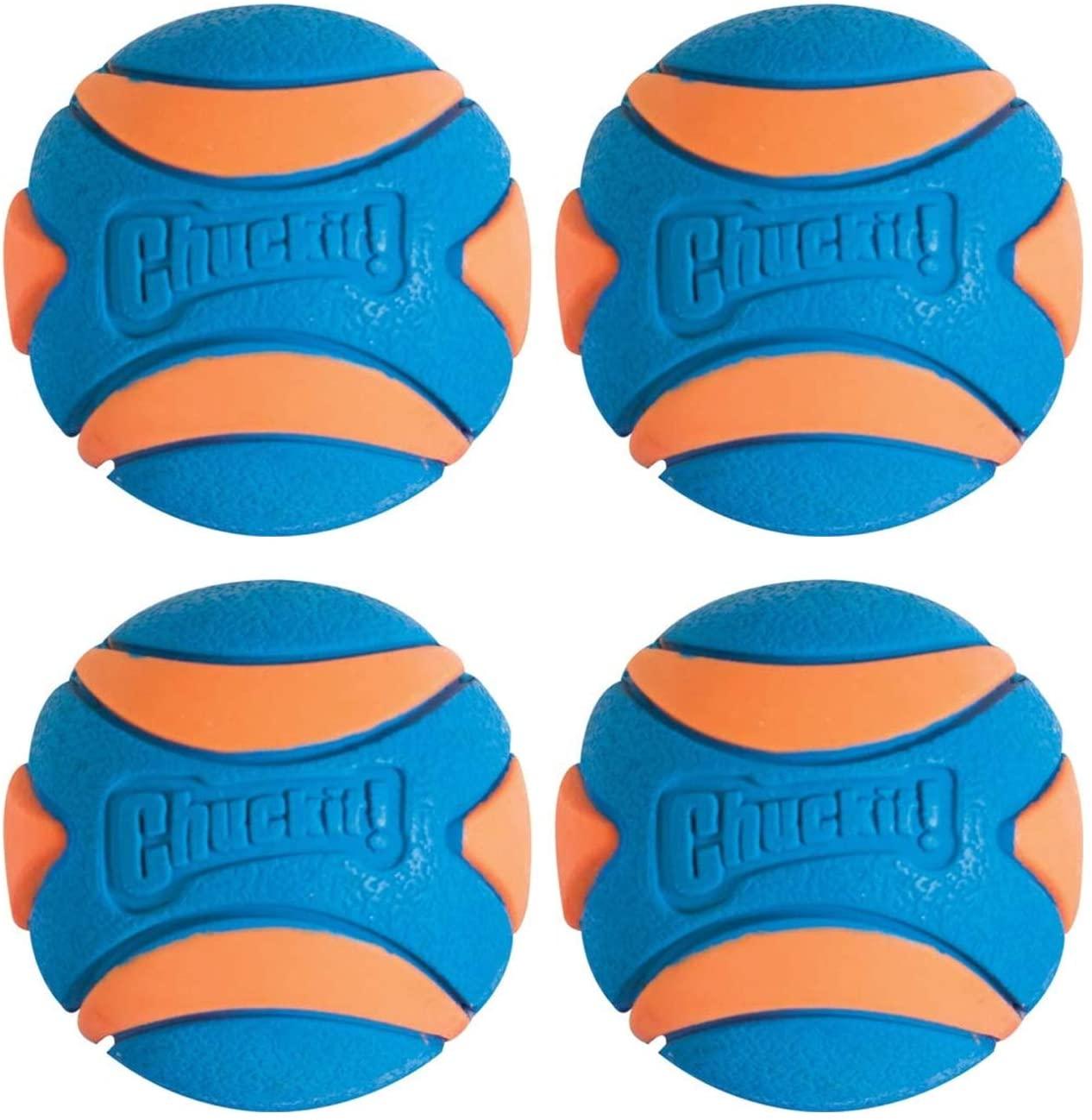 Chuckit! Ultra Squeaker Ball - 4 Pack