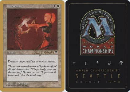 Magic The Gathering - Disenchant - World Championship Deck Singles