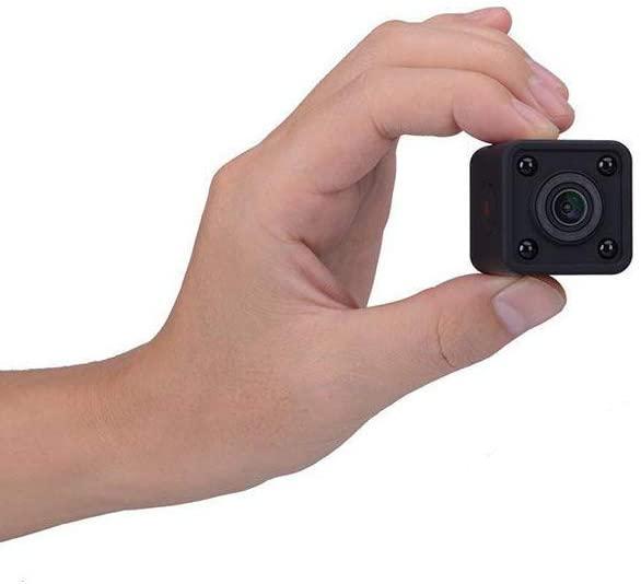 LFHKN 1080P Wireless HD Night Vision Portable Card WiFi Small Camera Home Surveillance Camera Fan DV