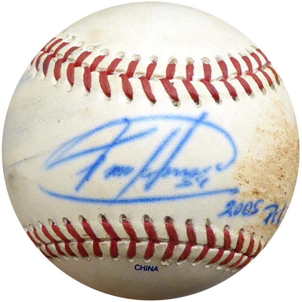 Felix Hernandez Autographed Official 2005 PCL Game Used Baseball Seattle Mariners ITP #4A52822 - PSA/DNA Certified