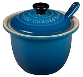 Le Creuset of America PG0080CB-1059 Condiment Pot, 6 3/4-Ounce, Marseille