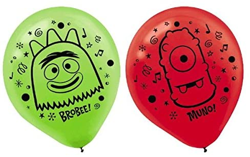 Printed Latex Balloons | Yo Gabba Gabba Collection | Party Accessory