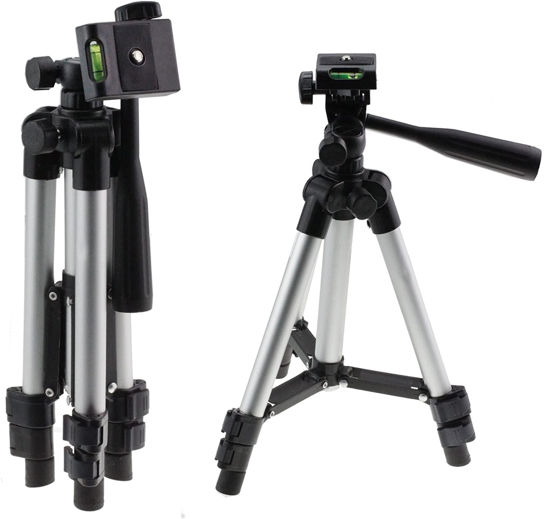 Navitech Lightweight Aluminium DSLR Camera Tripod Compatible with The Panasonic Lumix DC-TZ202