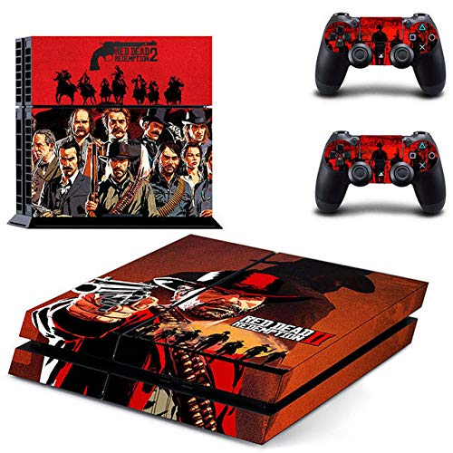 Gaming PS4 Whole Body Vinyl Skin Sticker Decal Cover for Playstation 4 System Console and Controllers by Mr Wonderful Skin