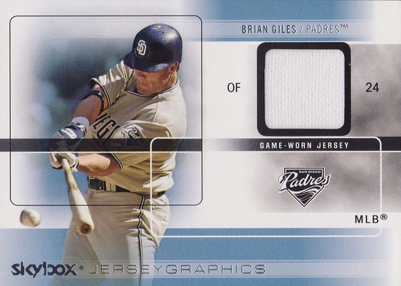 2005 SkyBox Autographics Jerseygraphics Blue #BG Brian Giles