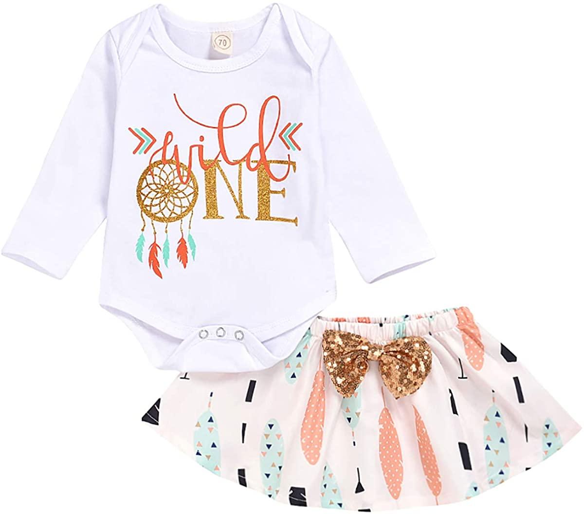 Toddler Baby Girl Outfit Set Summer Infant Romper Tops Floral Strap Skirt Dress Headband Clothes Set