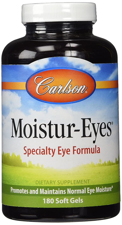 Carlson Moistur-eyes, 180 Softgels