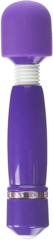 Shibari Hello Bling Bling, 10x Mini Wand Massager, Purple