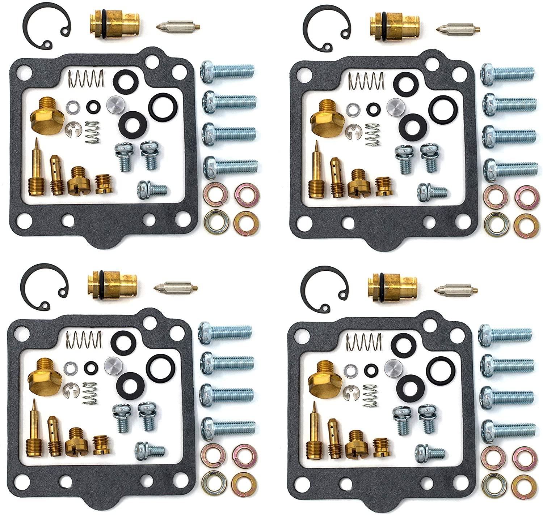 DP 0101-111 Carburetor Rebuild Repair Parts Kit (Set of 4) Compatible with Suzuki 80 GS550E, 81 GS550T, 82 GS550M Katana, 80-82 GS550L