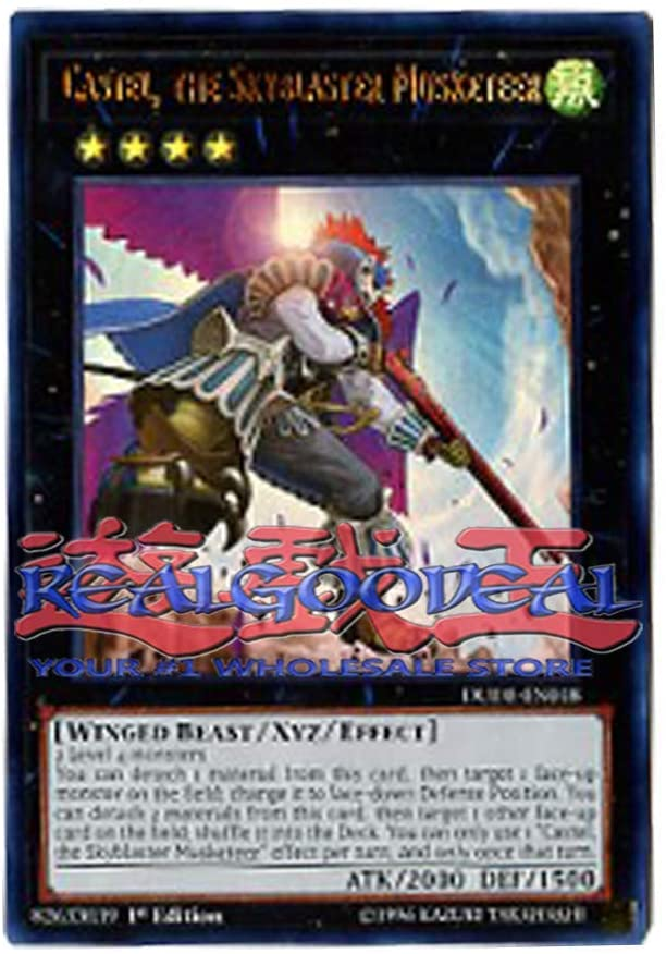 x3 Castel The skyblaster Musketeer DUDE-EN018 Ultra Rare 1st Edition