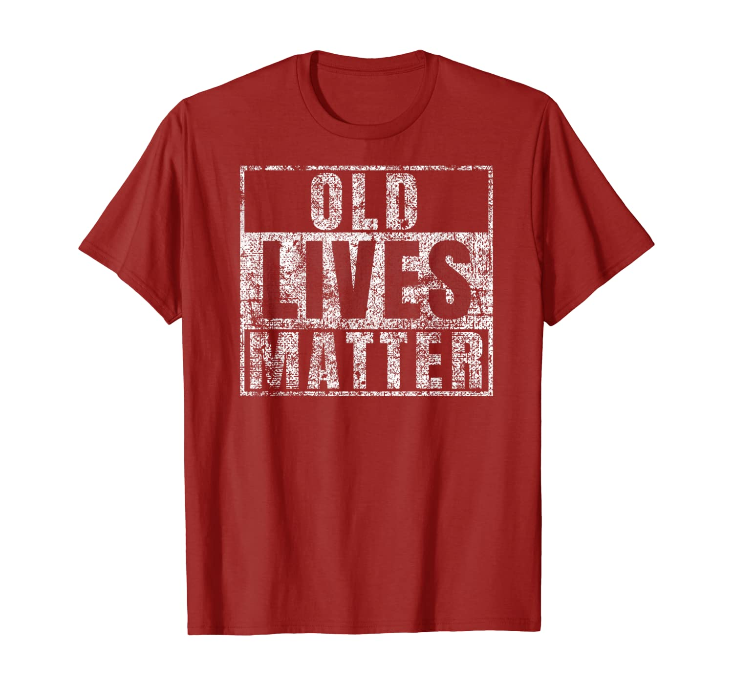 Old Lives Matter Shirt Funny 60th Birthday Gift Men Dad Gag