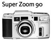 Olympus Superzoom 90 QD 35mm Film Camera