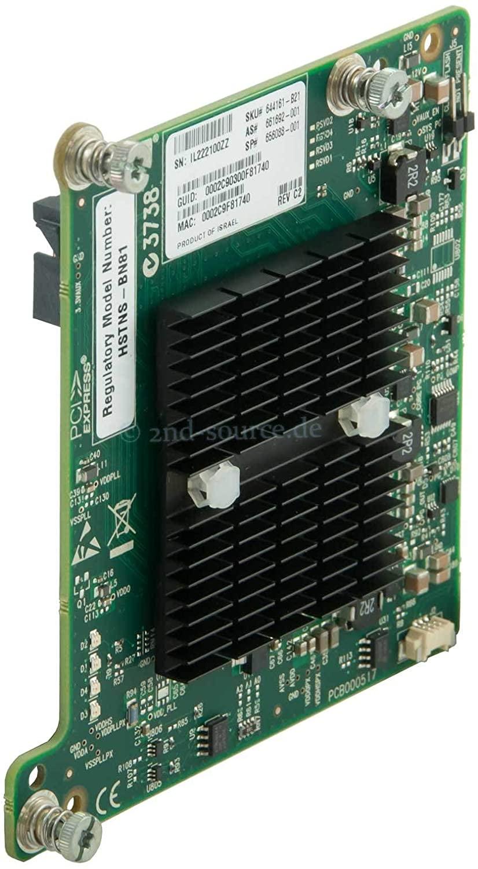 HP InfiniBand FDR/EN 10/40Gb Dual Port 544M Adapter 644161-B21 (Certified Refurbished)