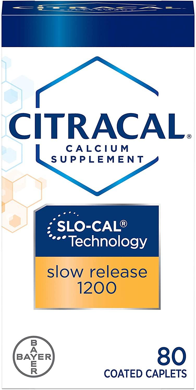 Citracal Calcium + D SLW Size 80ct Citrical Calcium + D 80ct