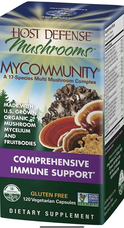 MyCommunity - Fungi Perfecti/Host Defense - 120 - Capsule by Fungi Perfecti/Host Defense