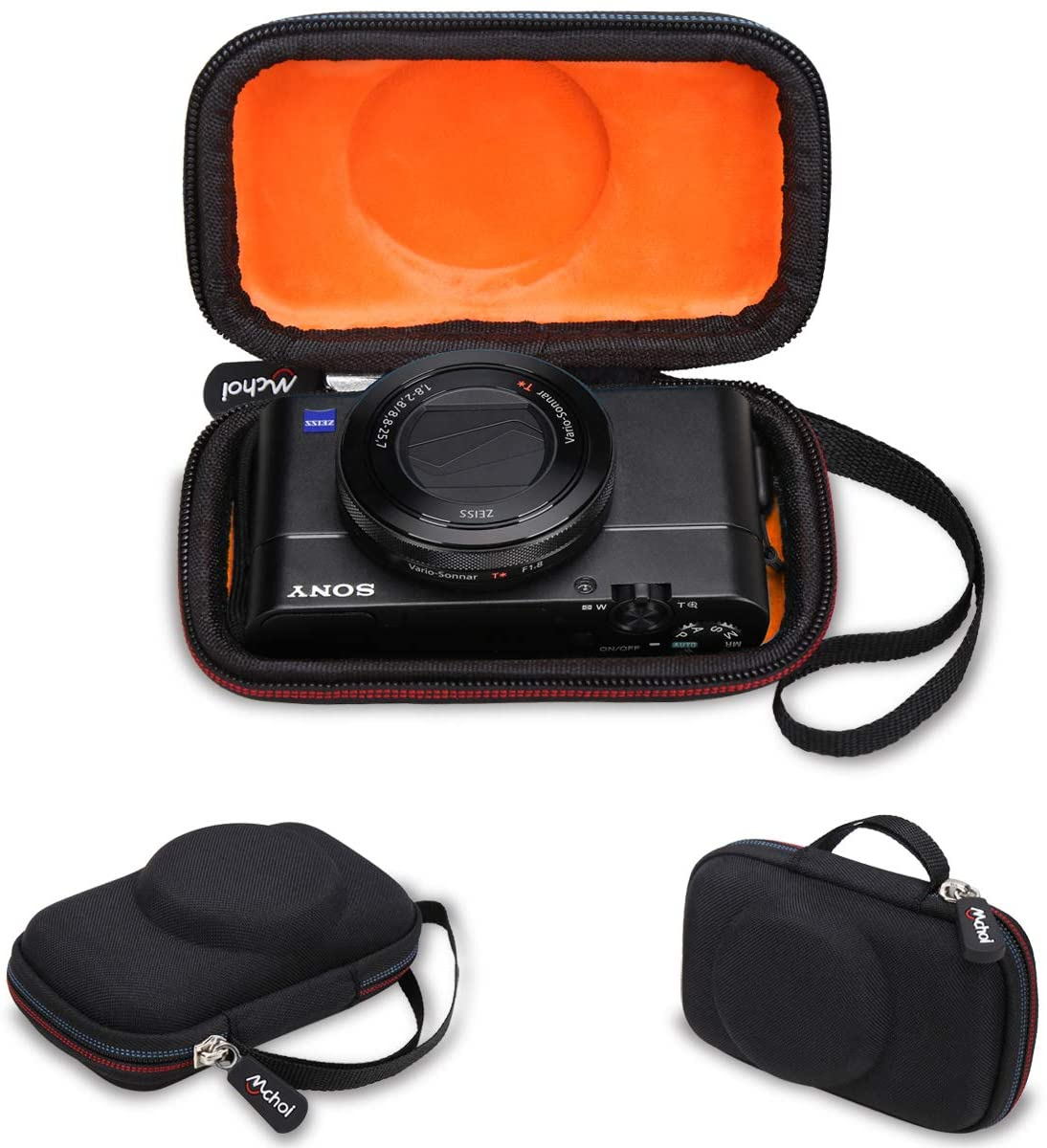 Mchoi Hard Portable Case Compatible with Sony RX100VA 20.1MP Digital Camera(CASE ONLY)