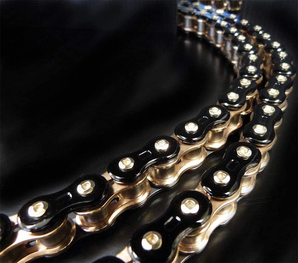 EK Motor Sport 530 Z 3D Premium Chain - 160 Links - Black/Gold