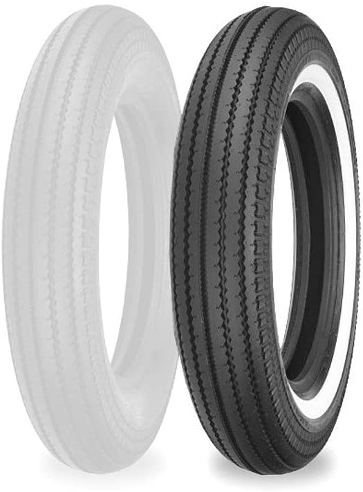 Shinko Super Classic 270 Front/Rear Tire - Whitewall (4.50-18 Tube Type)