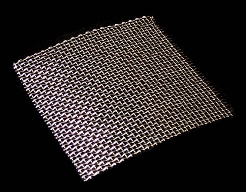 10 Mesh Stainless Steel for Car Grille (Fine), Scuttle Panel, Decorative/Cosmetic Mesh; Size - 15cm x 15cm - by Inoxia