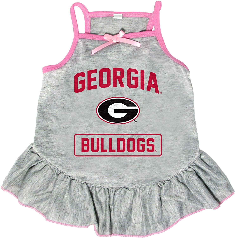 Littlearth NCAA Georgia Bulldogs Pet Dress, Extra Small